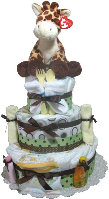 Baby Shower New Baby Gift Diaper Cake New mom gift
